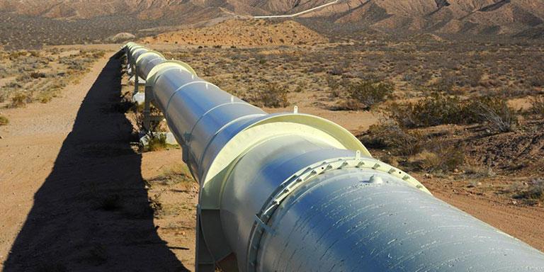 انتقال گاز با لوله درزدار