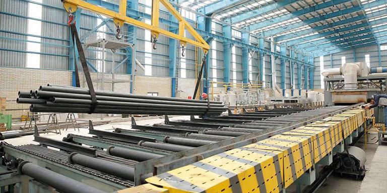 کارخانه تولید لوله فولادی کاوه