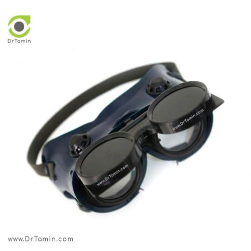 عینک جوشکاری دو جداره تک پلاست