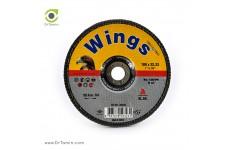 فلاپ دیسک عقابی گرید 120 آلومینیوم (180x22,23)