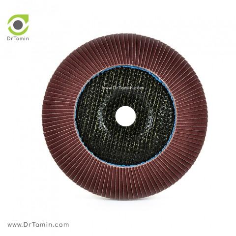 فلاپ دیسک عقابی گرید 120 آلومینیوم   ( 180x22,23)4