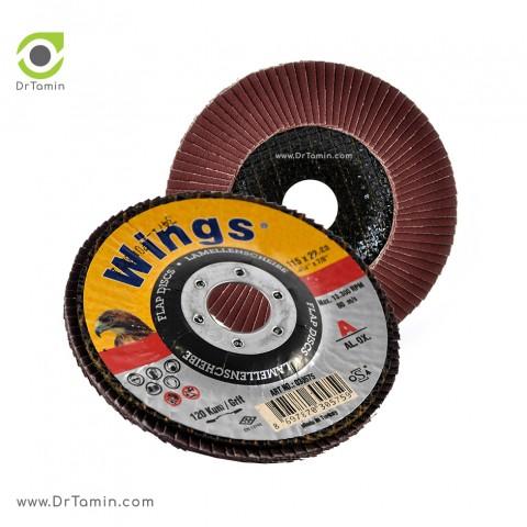مینی فلاپ دیسک عقابی گرید 120 آلومینیوم   ( 115x22,23)3