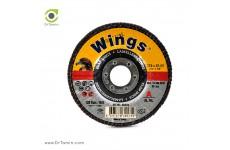 مینی فلاپ دیسک عقابی گرید 120 آلومینیوم (115x22,23)