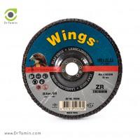 فلاپ دیسک عقابی گرید 36 زیرکنیوم <br> ( 180x22,23)
