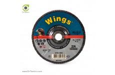 فلاپ دیسک عقابی گرید 36 زیرکنیوم (180x22,23)