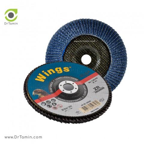 فلاپ دیسک عقابی گرید 36 زیرکنیوم   ( 180x22,23)5