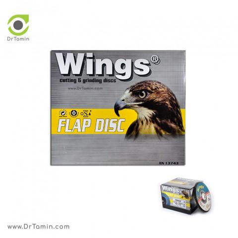 فلاپ دیسک عقابی گرید 36 زیرکنیوم   ( 180x22,23)2