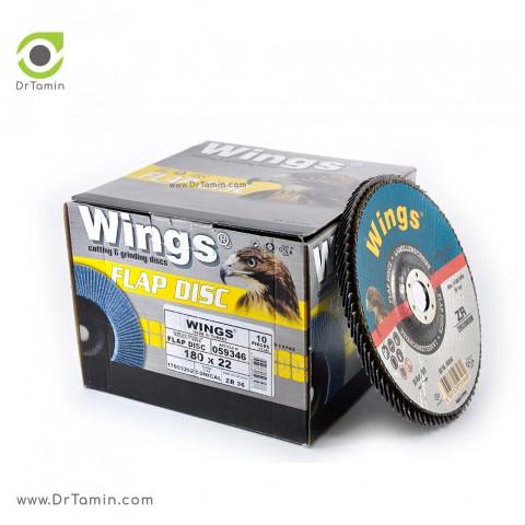 فلاپ دیسک عقابی گرید 36 زیرکنیوم   ( 180x22,23)3