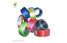 شیلنگ شفاف آجدار نخدار ابزار مهدوی قطر 2 سانتیمتری