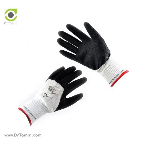 دستکش صنعتی استادکار «دورنگ»