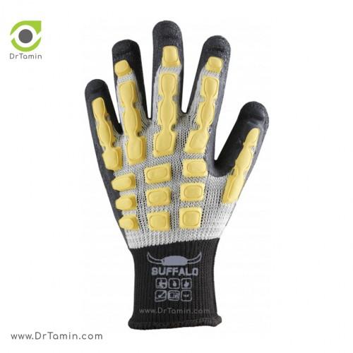 دستکش ضد برش لوکس بوفالو <br> ( B 1108)