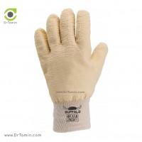 دستکش ضد برش قوی مچ کشبافت بوفالو <br> ( B 1122)