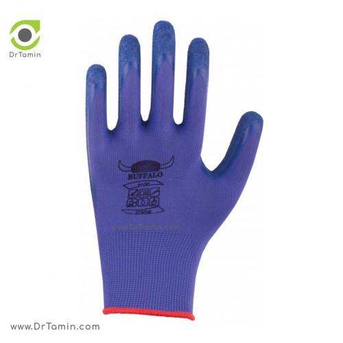 دستکش پلی استر ضد برش بوفالو <br> ( B 1171)