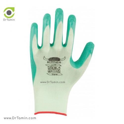 دستکش پلی استر ضد برش بوفالو <br> ( B 1172)