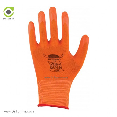دستکش پلی استر ضد برش بوفالو <br> ( B 1173)