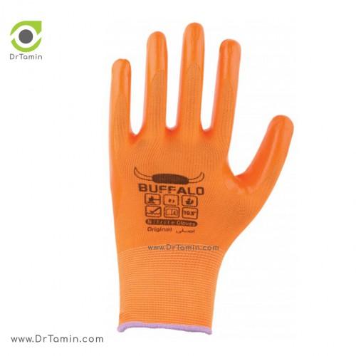 دستکش نیتریل بوفالو <br> ( B 1185)
