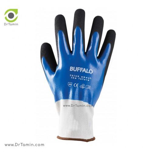 دستکش نیتریل زبر بوفالو <br> ( B 1213)