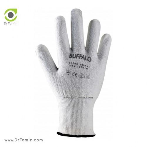دستکش پلی اورتان بوفالو <br> ( B 1221)