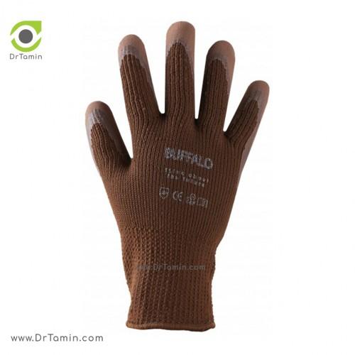 دستکش ضد برش اسفنجی بوفالو <br> ( B 1232)
