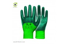 دستکش نیم مواد ساده ایرانی تاپ