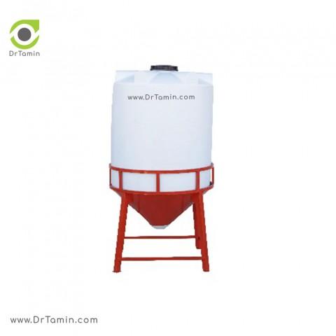 مخزن 3000 قیفی چهار لایه آنتی باکتری   ( 155cm×230cm×68cm)