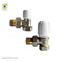 شیر زانو رادیاتور ایران گرمافر طرح جدید سایز 1/2 اینچ