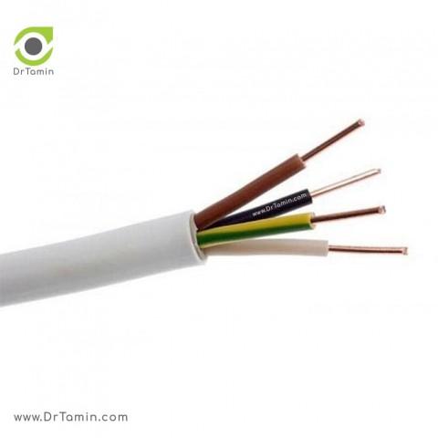 کابل مفتولی دماوند با عایق PVC   ( سایز 1/5×2)