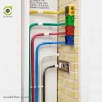 لوله برق UPVC نمره 21 شایلین <br> ( لوله برق خم سرد یو پی وی سی)