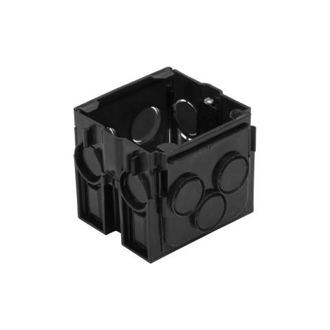 قوطی کلید مشکی عمیق شایلین   ( قوطی کلید و پریز برق 6 سانتیمتر شایلین)