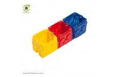 قوطی کلید رنگی عمیق شایلین (قوطی کلید و پریز برق 6 سانتیمتر شایلین)
