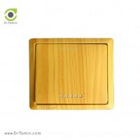 کلید و پریز مهسان الکتریک مدل ارس طرح چوب کلید یک پل
