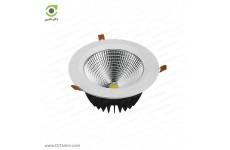 چراغ سقفی پارس شعاع توس مدل هارمونیک دایره ای 30 وات