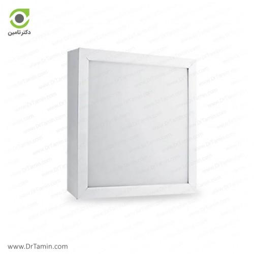 چراغ سقفی پارس شعاع توس مدل رونا مربعی 30 وات
