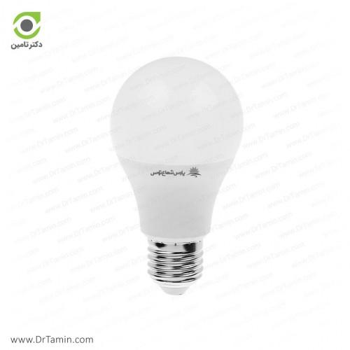 لامپ LED پارس شعاع توس مدل حبابی 9 وات
