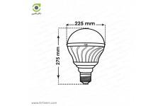 لامپ LED پارس شعاع توس مدل حبابی 20 وات