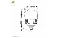 لامپ LED پارس شعاع توس مدل استوانه ای 40 وات
