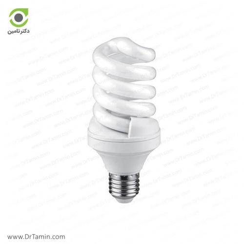 لامپ کم مصرف پارس شعاع توس مدل پیچی 18 وات T3