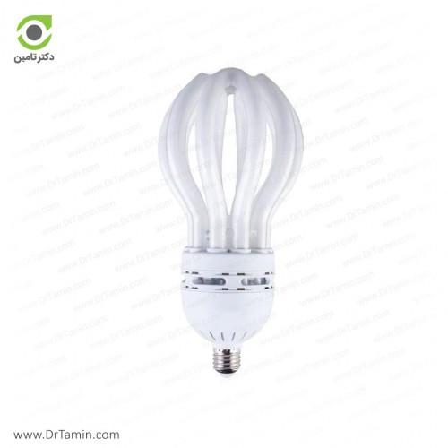 لامپ کم مصرف پارس شعاع توس مدل لوتوس 105 وات
