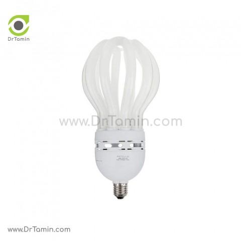 لامپ کم مصرف پارس شعاع توس مدل لوتوس 200 وات سفید