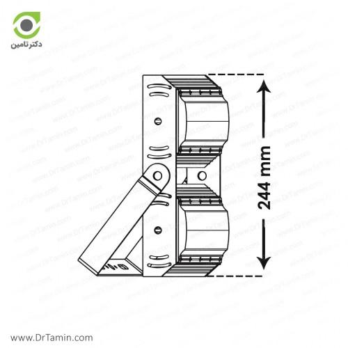 پرژکتور پارس شعاع توس مدل آتریا 100 وات عمودی
