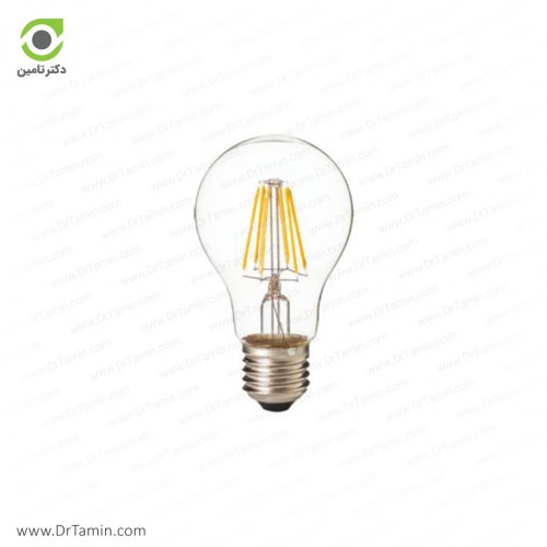 لامپ حبابی شفاف شعاع مدل SH-A60-C-7W