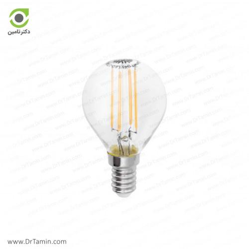 لامپ حبابی کوچک شفاف شعاع مدل SH-G45-C-4W