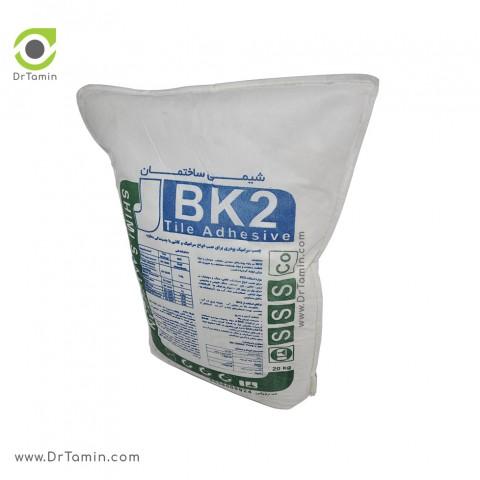 چسب کاشی پودری BK2 شیمی ساختمان سفید 20 کیلویی