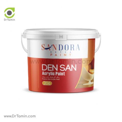 رنگ اکریلیک مات داخلی ساندورا مدل دن سان
