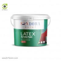 رنگ اکریلیک مات داخلی ساندورا مدل لاتکس