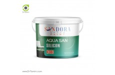 رنگ  اکریلیک ابریشمی ساندورا مدل آکواسان
