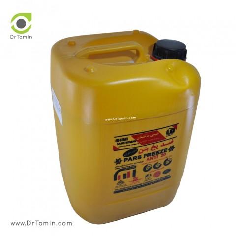 ضدیخ و زودگیر بتن شیمی ساختمان   ( بدون کلراید)3