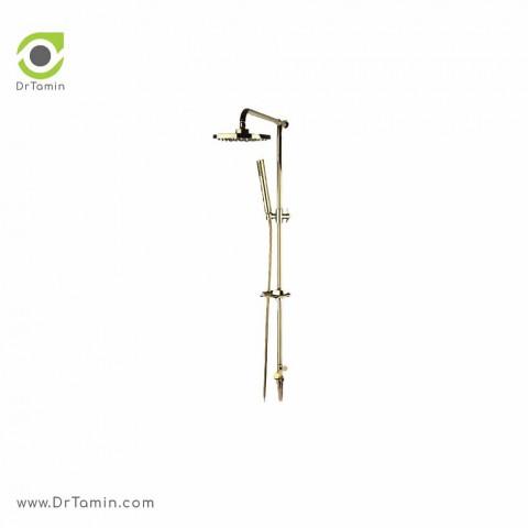 علم دوش حمام راسان   ( مدل تینا طلایی کد: 31592)