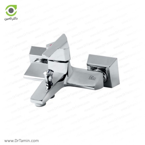 شیر حمام گلپایگان مدل سبلان <br> ( 157-2)