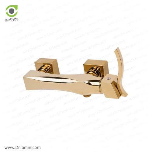شیر توالت گلپایگان مدل الماس طلایی <br> ( 179-1)
